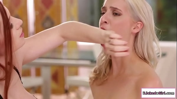 Lesbian milf squirts on her housekeepers