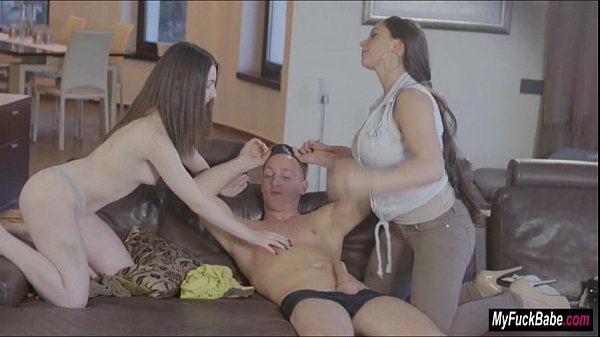 MILF Marta LaCroft surprises Amy White and her lover with a threesome
