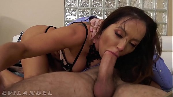 EvilAngel - Wife Fucks Other Man With Husband On The Phone