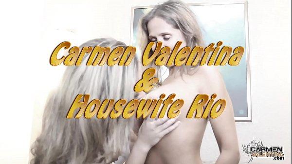 Horny Hotwife Rio And Carmen Valentina Licking Pussy Thumb