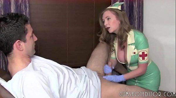 Hot MILF Nurse Professionally Draining A Cock  thumbnail