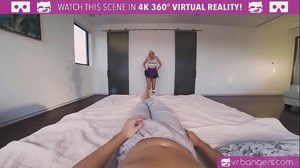 VRBangers.com-Teen cheerleader Luna Star fucked hard by a big dick thumbnail