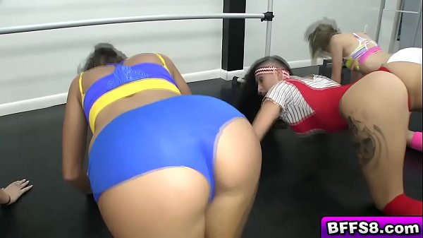 Brunette chick fucked doggystyle by the directo...