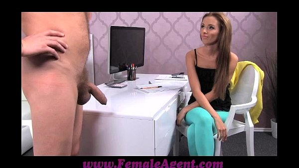 FemaleAgent Big cock delivers creampie present after casting fuck frenzy Thumb