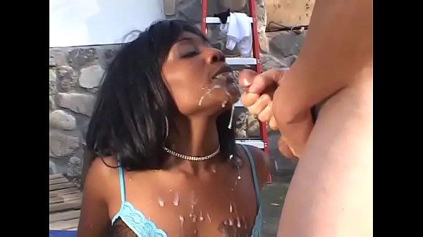 Cute black girl gangbanged by a bunch of white maniacs Thumb
