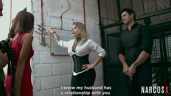 NARCOS X - Gangsters Fuck Colombian Chicks Then Facialize And Cum On Their Tits