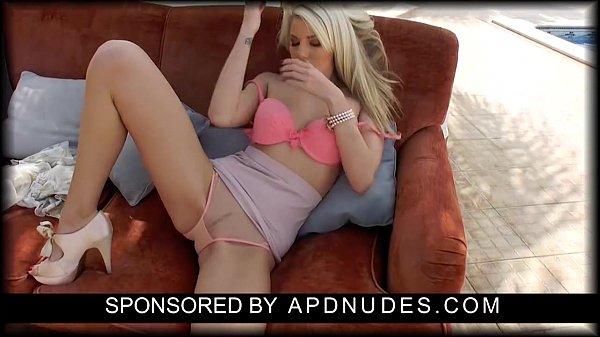 Danielle Maye Masturbating in the Sun by APDNUDES.COM