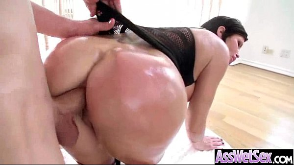 (shay fox) Big Butt Girl Get Oiled And Hard Deep Anal Nailed clip-27 Thumb