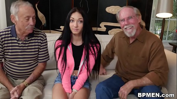 Crystal Rae Fucks The Hell Out Of Old Man! Thumb