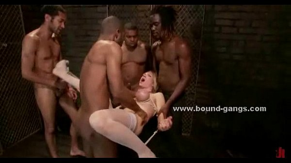 Maids b. group sex video scene