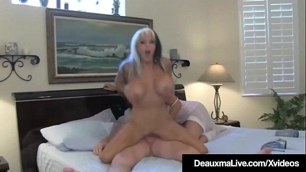 Horny Wife Deauxma Sees Hubby Ass Fuck Sally D'Angelo! Thumb