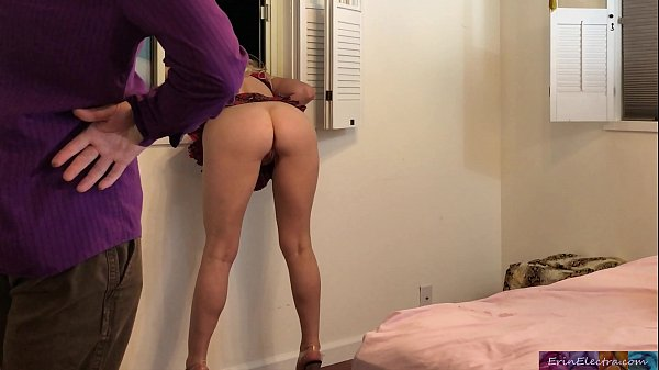 Stepdaughter stuck sneaking out gets fucked by stepdad - Erin Electra Thumb