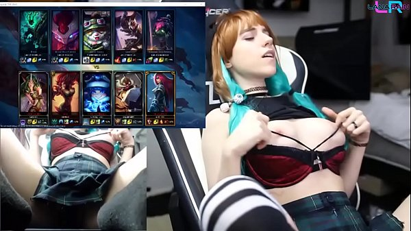 Teen Playing League of Legends with an Ohmibod 1/2 Thumb