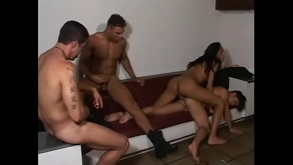 Hunk stud and sexy tranny getting their ass hole licked before getting banged