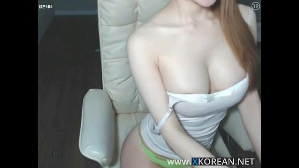 Korean busty girl shows her hot body