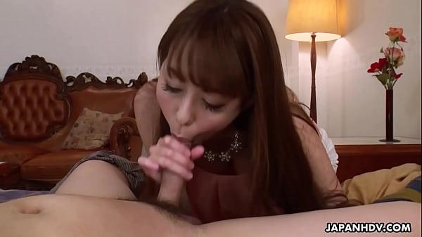Japanese housewife, Akari Asayiri cheated, unce...
