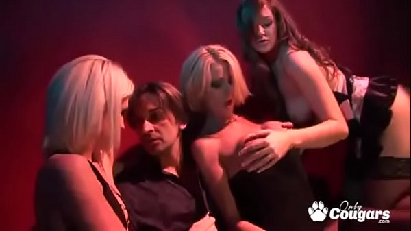 Three Sexy Strippers Get Ass Fucked In The Back Of The Club
