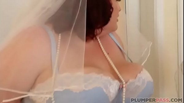 BBW Bride Eliza Allure Fucks Best Man's Friend