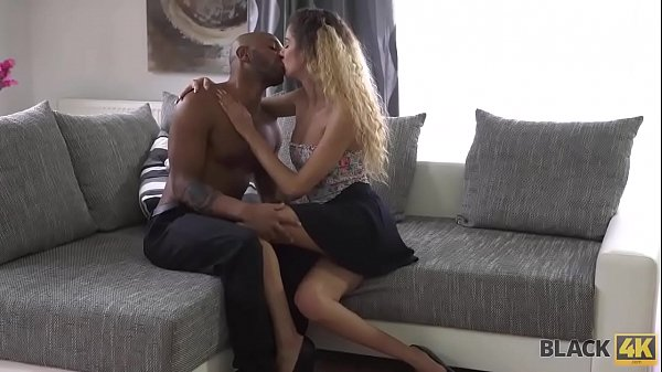 BLACK4K. Cleaning girl seduces rich black gentleman for dirty sex