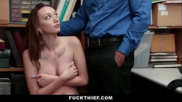 Shoplifter Sucks Cock To Avoid Trouble - Avery Stone