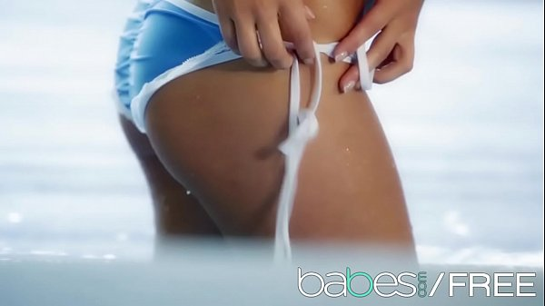 Bathing Beauty (Michaela Isizzu) shows off her perfect pussy and ass - BABES Thumb