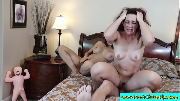 Busty twins sharing lucky guys dick