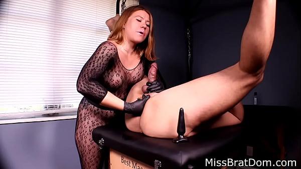 BP153-Prostate Massage Femdom- Miss Brat