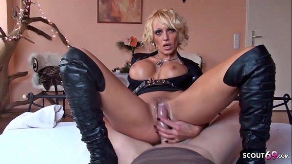 German Big Tits Mom Kada Love at POV Police Woman Roleplay Thumb