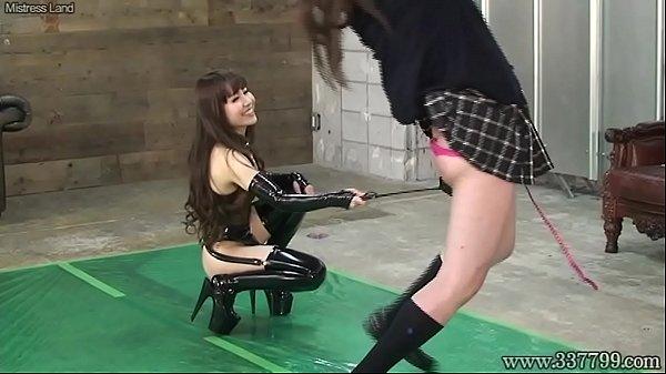 Japanese Femdom Emiru Whip BDSM Her Slave Thumb