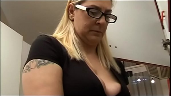 My aunt is sucking my cock!