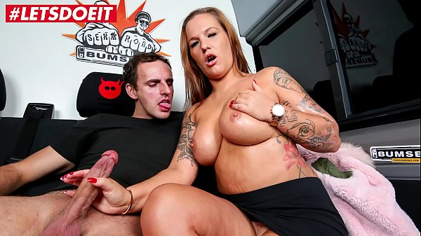 LETSDOEIT - German BBW Picked Up And Fucked In The Sex Bus