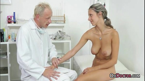 Busty Tanned Teen Blonde Get A Thorough Checkup From Doctor Thumb