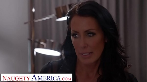 Naughty America Reagan Foxx roleplays as naught...