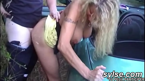 Hot lesbians caught by firemen in car Thumb