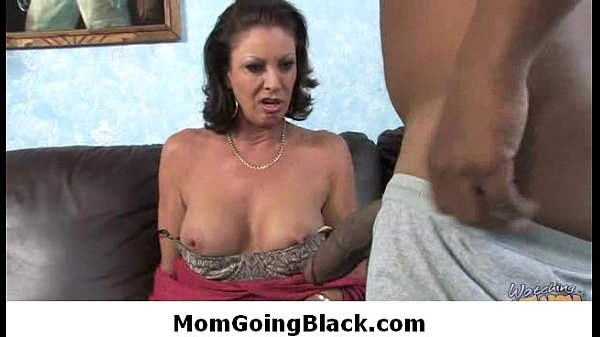 Mature busty babe interracial sex