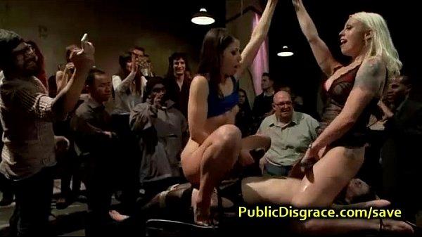 av erotik public disgrace party