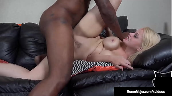 Big Bull Cock Rome Major Pounds And Cums All Over Pale Nadia White! Thumb