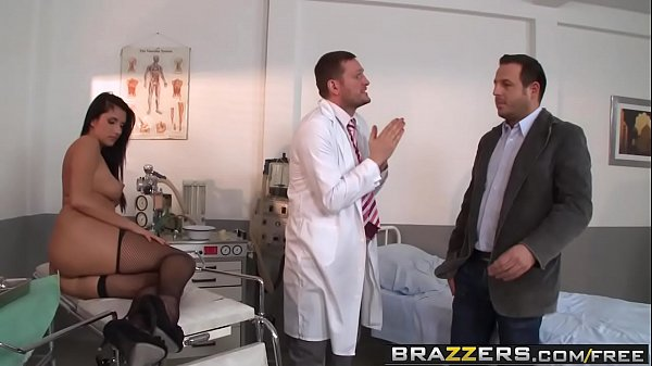 Brazzers - Doctor Adventures -  Milgrams Experiment scene starring Melissa Ria and Yanick Shaft Thumb
