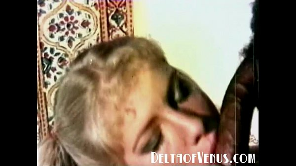 Sol Peterson: 1970s Vintage Blonde, Interracial Threesome