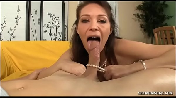 She DRAINS Step Sons Dick