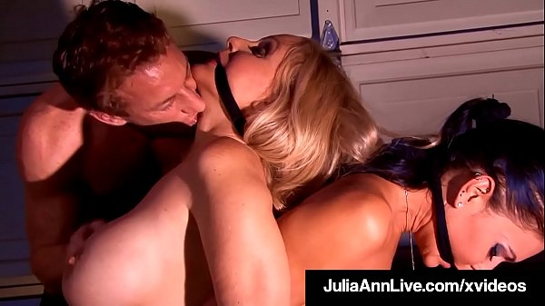 Bound Cougars Julia Ann & Jessica Jaymes Fucked By Perv! Thumb