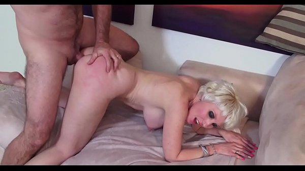 Mature granny great doggystyle pounding