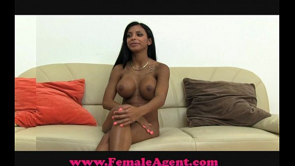 blonde-female-agent-wanks-and-fucks-cock-nude-black