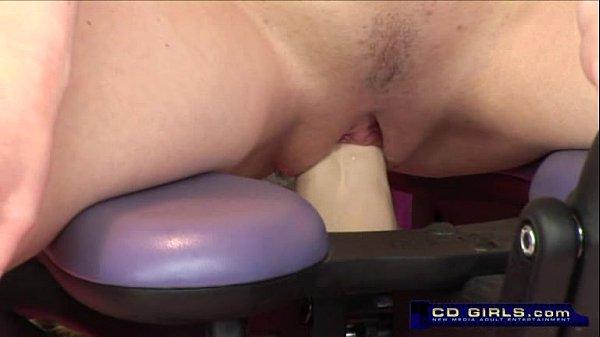 Teen Girl Rides The Orgasmatron Fucking Machine