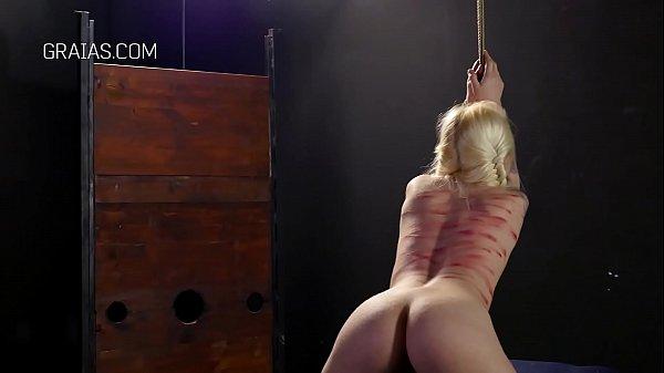 Two perverts punish a slave Thumb