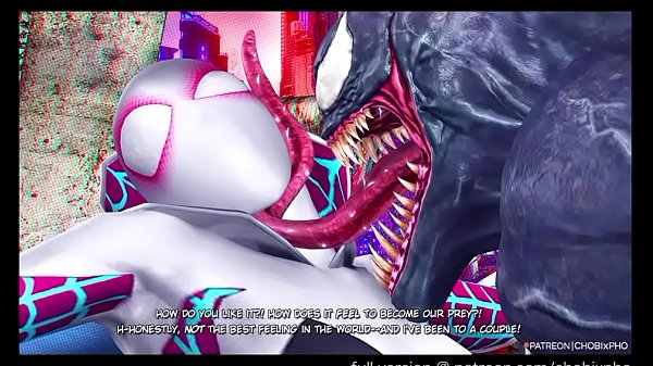 SPIDER-GWEN FUCKED BY VENOM INTO THE SPIDER-VERSE (CHOBIxPHO)