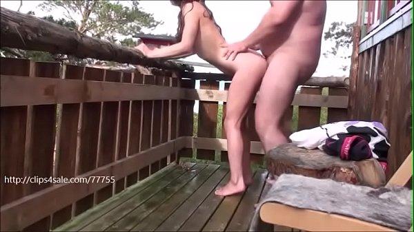 Teen fucked hard on balcony Thumb