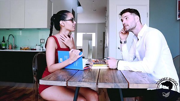 ENGLISH teacher - student role play with COLUMBIAN beauty- Andreina Deluxe - teaser Thumb
