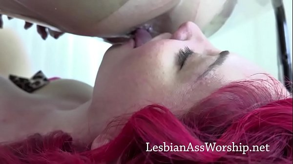 Kiki Daire Eats Kat Lowden's Asshole While She Sits on Queening Stool Thumb