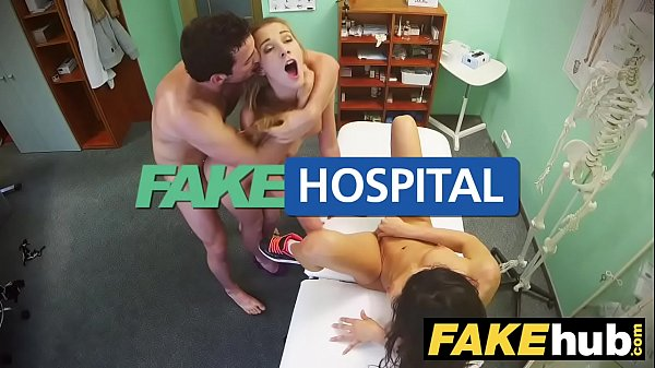 Fake Hospital Frisky shaven pussy Russian babe loves docs cock Thumb